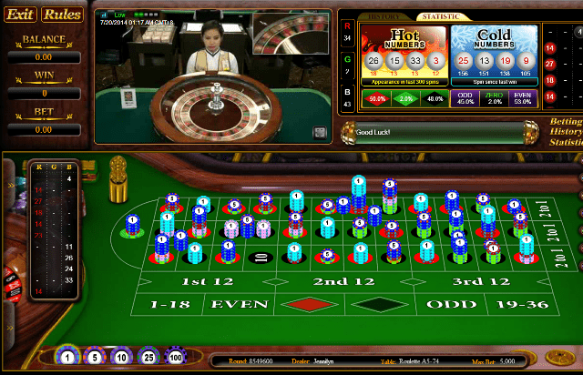 Roulette online di android real casino slots