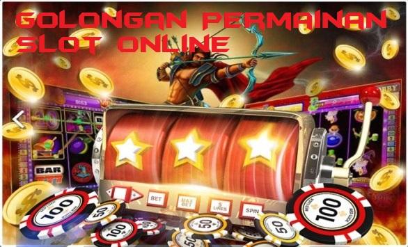 Golongan Permainan Slot Online